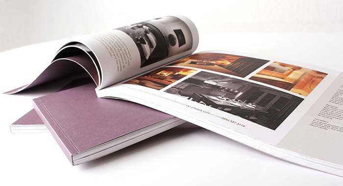 Печать каталогов - заказать печать каталогов в Москве