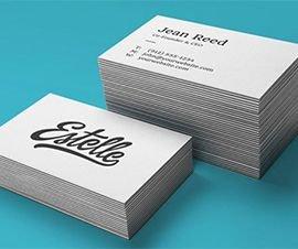 Изготовление и печать визиток - заказать печать визиток в Москве